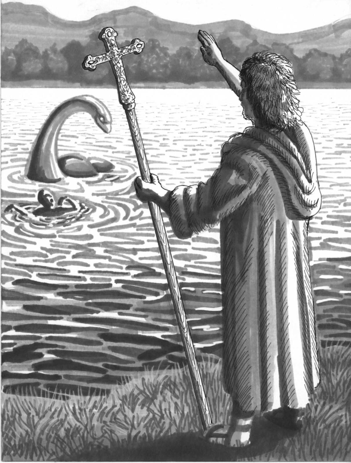 St Columba & Nessie 1