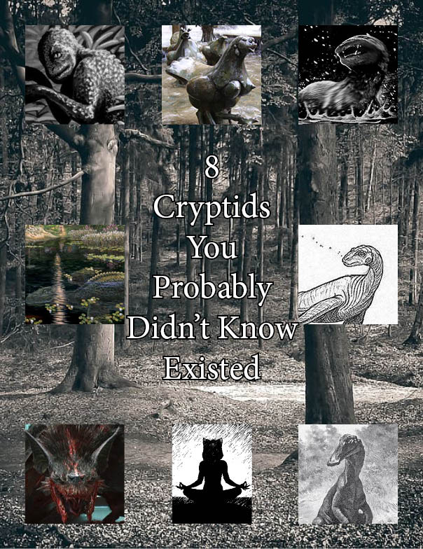 cryptids; writing services