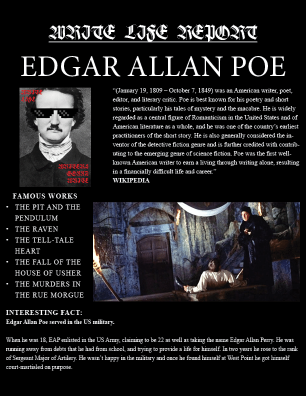 POE REPORT ENTRY